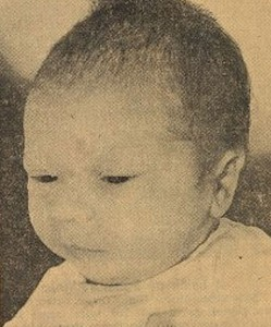 Baby Paul, before he was abducted.