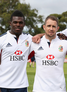 Christian Wade and Shane Williams