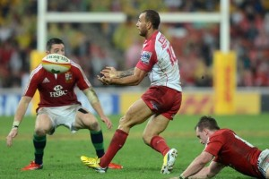 Quade Cooper against lions