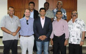 aiyaz saiyed khaiyum with city administrators