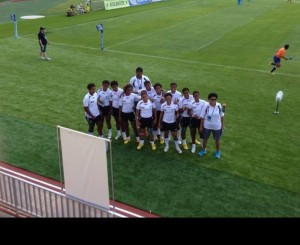 fijian team on ground