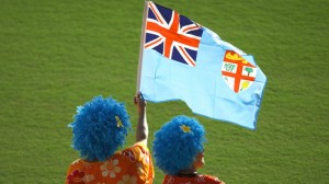 Fiji supporters